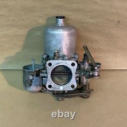 Original SU HD8 Carburetor Incomplete AUC7090 Jaguar Austin Healey Rover OEM