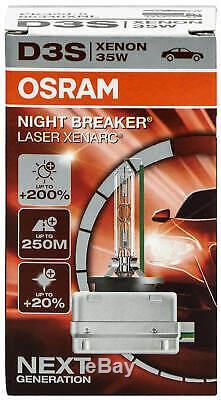 Osram Xenarc Night Breaker Laser D3S 66340XNL Xenon Lampe (2 Stück)