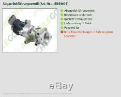 Valeo Abgasrückführventil Rechts Für Land Rover Discovery Taa 2.7