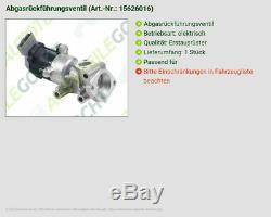 Valeo Abgasrückführventil Rechts Für Peugeot 607 Limo 2.7