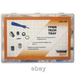 030-100 Dorman Tpms Valve Kit Nouveau Pour Chevy Mercedes 323 325 328 330 525 528 530