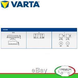 12v 100ah Batterie Varta Silber Dynamique H3 610 402 092
