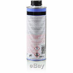 3xmann-filter Ölfilter-w 713/29 + 3xliqui Moly Pro-line Motorspülung / 3x Cera Tec