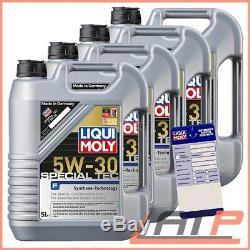 4x 5 Litres = 20 Litres De Liquide Spécial Moly Special Tec 5w-30 Motor-öl Motoren-öl 32099600