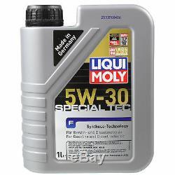 9l Liqui Moly Spécial Tec F 5w-30 Motoröl Motorclean Reiniger Motorreiniger