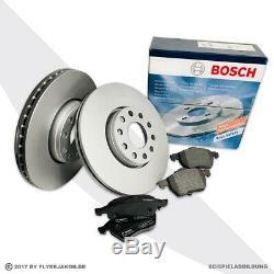 Bosch Bremsscheiben Ø326mm + Beläge Hinten Jaguar S Type + Xf + Xj