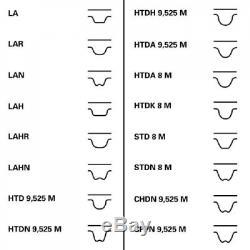Contitech Zahnriemensatz Für Riementrieb Ct1117k1