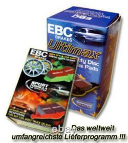 Ebc Bremsbeläge Redstuff Vorne Für Jaguar Xe (ja) Xf Dp32253c