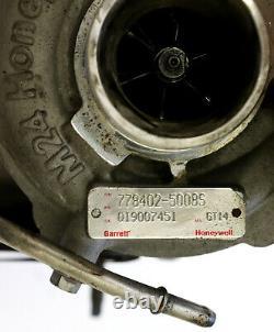 Garrett Land Rover Jaguar Xj Xf 3.0d X250 778402-5010s Turbo Turbolader