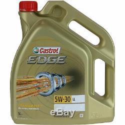 Inspektionskit Filtre Castrol 7l Öl 5w30 Pour Land Rover Discovery IV La 3.0