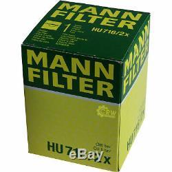 Inspektionskit Filtre Liqui Moly Öl 5l 5w-30 Für Ford Fiesta VI