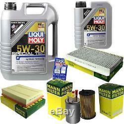 Inspektionskit Filtre Liqui Moly Öl 6l 5w-30 Für Land Rover Discovery III L319