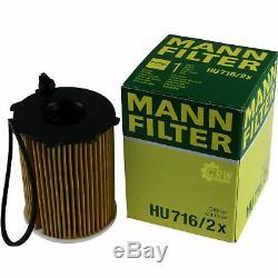 Inspektionskit Filtre Liqui Moly Öl 7l 5w-30 Für Ford Focus III Turnier