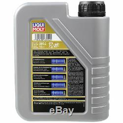 Inspektionskit Filtre Liqui Moly Öl 7l 5w-30 Für Jaguar X-type 2.2 D 2.0 Cf1