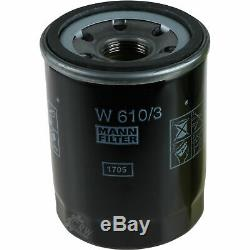 Inspektionskit Filtre Liqui Moly Öl 7l 5w-30 Für Mitsubishi Outlander III Gg W