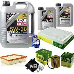 Inspektionskit Filtre Liqui Moly Öl 7l 5w-30 Für Range Land Rover LV 2.2 D