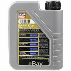 Inspektionskit Filtre Liqui Moly Öl 7l 5w-30 Für Volvo S60 II 134 T5 V60 Bw 2.0