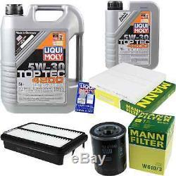 Inspektionspaket 6 L Liqui Moly Toptec 4200 5w-30 + Mann Filtre Filtre Asx 9801836