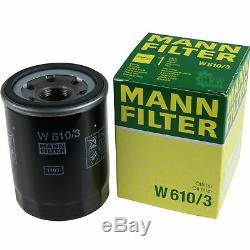 Kit De Filtre Pour Filtre + 5w30 Pour Mitsubishi Outlander III Gg W Gf W Asx Ga W