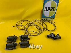 Kunifer Bremsleitungssatz Radbremszylinder Opel Kapitän P 2,5 P2,5 Schlüsselloch