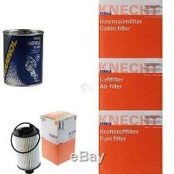 Mahle / Knecht Ensemble De Filtres Inspektionspaket Sct Motor Flush Motorspülung 11612496
