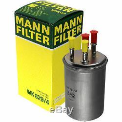 Mann-filter Inspektions Set Öl- Luft- Kraftstoff- Filtre À Pollen Molki-10225574
