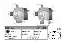 Neu Denso Generator Land Rover Discovery IV L319 Range Rover Sport L320 09