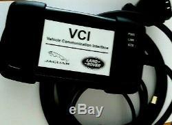 Original-vci-jaguar-land Logiciel De Diagnostic Pour Ordinateur Portable Rover-interface-jlr 154.01