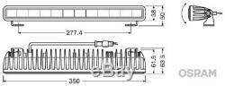 Osram Fernscheinwerfer Ledriving Lightbar Sx300 Leddl106-sp