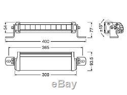 Osram Ledriving Led Arbeits & Zusatzscheinwerfer Barre De Lumière Fx250-sp Leddl103-sp