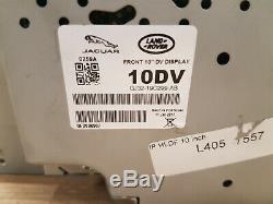 Rover D'origine Jaguar Land Rover Range Sat Nav Display Bildschirm Gj32-19c299-ab