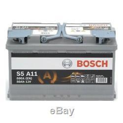 S5a11 Bosch 115agm 12v 80ah Stop-start Batterie Garantie De 5 Ans Le Jour Suivant