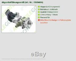 Valeo Abgasrückführventil Rechts Pour Land Rover Discovery Taa 2.7